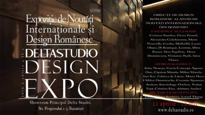 poza expozitie design interior la Delta Studio