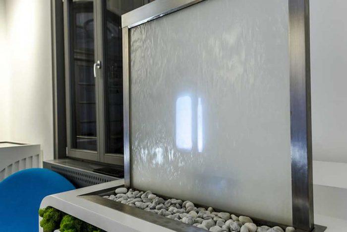 Proiectie pe ecran de apa pentru evenimente