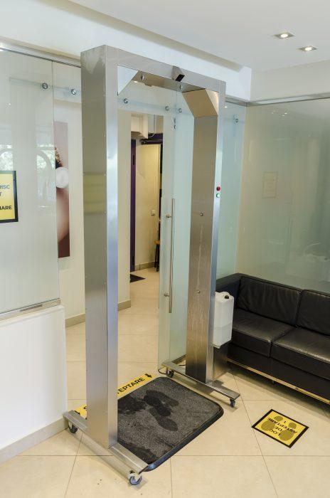 Poarta-D, poarta pentru decontaminare